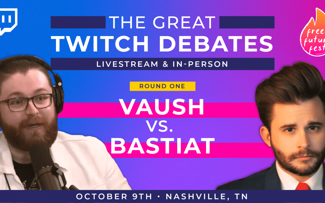 Twitch streamers Bastiat and Vaush to host the first in-person debate at Freer Future Fest